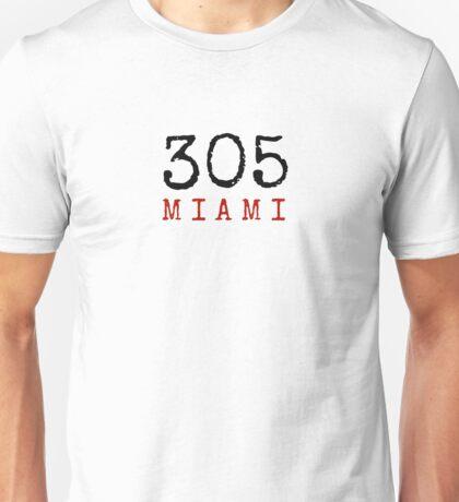 305 (Miami!) Unisex T-Shirt