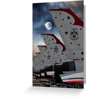 Fly Me to the Moon Version 2 Greeting Card