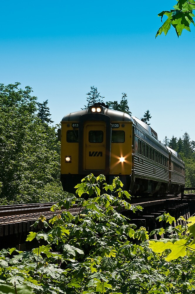 VIA Rail - 6135 by Rick Ruppenthal
