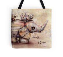 upside down elephants Tote Bag