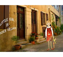 """Little girl in France"" by Mary Taylor"