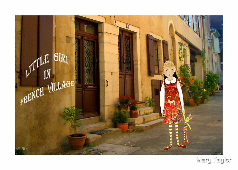 """""""Little girl in France"""" by Mary Taylor"""