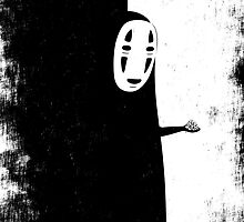 NO FACE (distressed) by oikiden