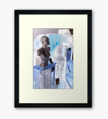 Contemplation: the value of things Framed Print