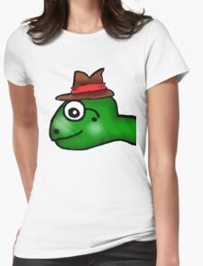 Mr. Turtle  Womens Fitted T-Shirt