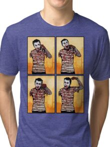 The Zombie Mime! Tri-blend T-Shirt
