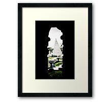 Pillar of the Past Framed Print