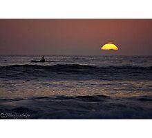 Twilight Paddle Photographic Print