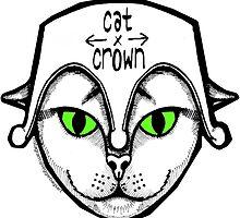 Cat -N- Crown Clothing Logo by reggiebags