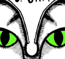 Cat -N- Crown Clothing Logo Sticker