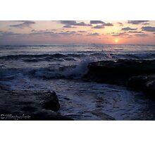 Sunset Sea Photographic Print