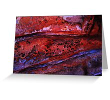 Rock Textures-098 Greeting Card