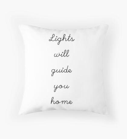 Fix You - White Throw Pillow