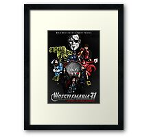 Wrestlemania 31: Avengers poster Framed Print