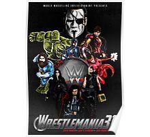 Wrestlemania 31: Avengers poster Poster