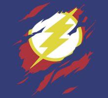 Secret Identity: The Flash by TGRShirts