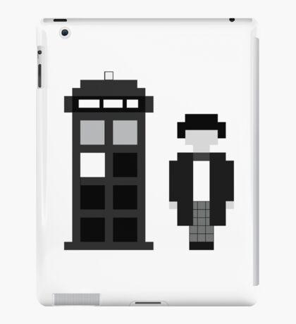 Pixel 2nd Doctor and TARDIS iPad Case/Skin