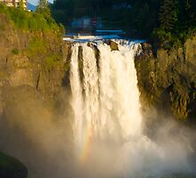 Snoqualmie Falls by RavenFalls