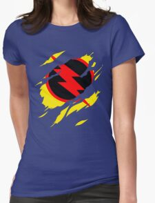 Secret Identity: Reverse Flash Womens Fitted T-Shirt