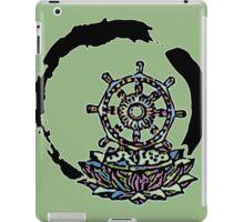 Lotus Wheel Enso - Gentleness iPad Case/Skin