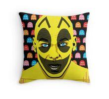 The Yellow Gamer Throw Pillow