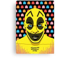 The Yellow Gamer Canvas Print