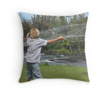 Broxcen Thrownet Throw Pillow