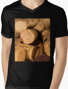 Cork jumble Mens V-Neck T-Shirt