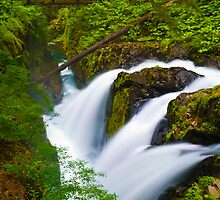 Sol Duc Falls by RavenFalls