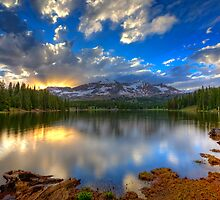 Lake Irwin Sunset by Ryan Wright
