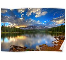 Lake Irwin Sunset Poster