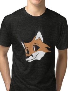 Foxy Headshot Tri-blend T-Shirt
