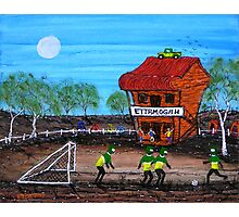 """Ned Kelly Gang World Cup Fever"" Original Acrylic Australian Painting; SOLD Photographic Print"