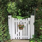 Friendly Little Gate by angieschlauch