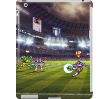 Soccer Brawl pixel art iPad Case/Skin
