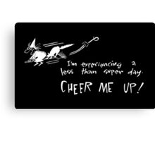 Cheer me up! Canvas Print