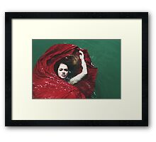 Water Bed Framed Print