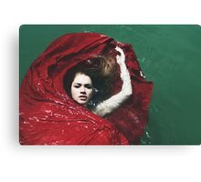 Water Bed Canvas Print