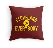 Cleveland > Everybody Throw Pillow