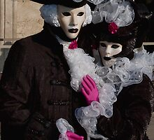 The masked pair by vesa50