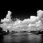 Brisbane River -  Southbank by Damon Lancaster