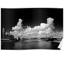 Brisbane River -  Southbank Poster