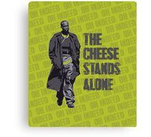Omar Little - The Cheese Stands Alone Canvas Print