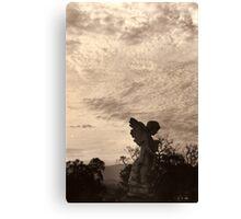 unknown angel Canvas Print