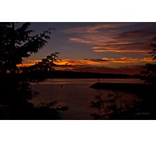 June Sunset ll Photographic Print