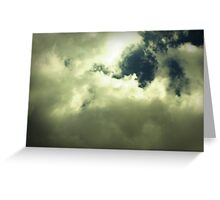 The big empty sky Greeting Card