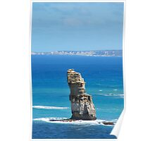 Rock/ Sea Poster
