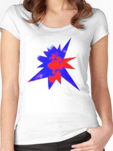PATRIOTIC SKY Women's Fitted Scoop T-Shirt