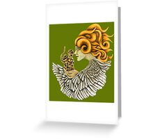Kundalini shakti Greeting Card