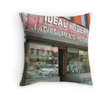 Ideal Hosiery Throw Pillow